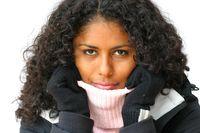 Moisturize your skin & hair MORE OFTEN in winter.