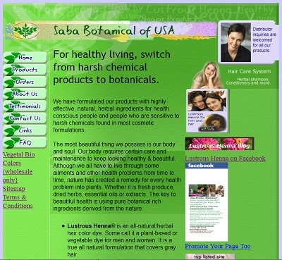 Saba Botanical OLD_HomePage
