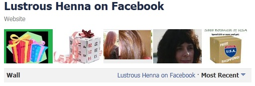 Lustrous Henna on Facebook-Saba Botanical Store