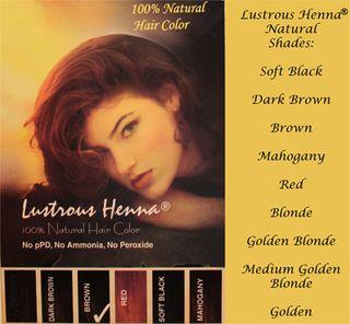 Lustrous Henna Pkg_9 Colors
