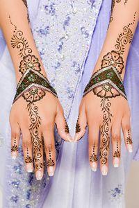 Henna Tattoo as Bridal Art