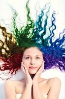 Multicolor hair dye