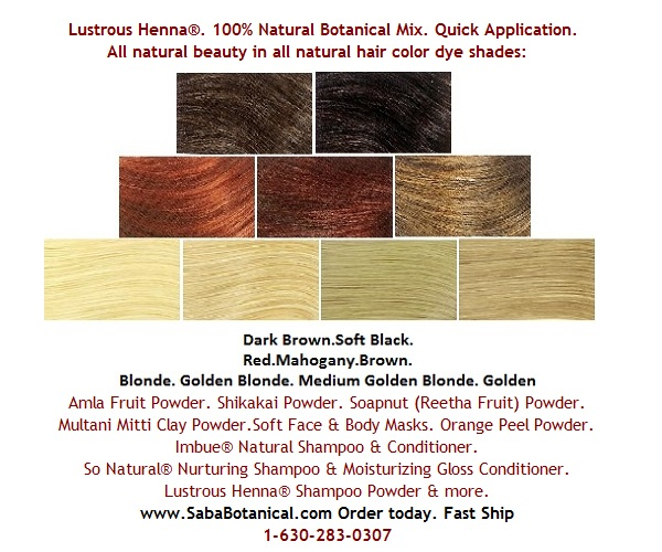 Hair Color Golden Highlights With Cassia Obovata Lustrous Henna