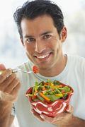 Men: Eat Healthy food for Healthy Hair.