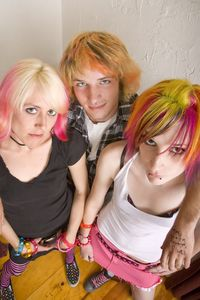 Teens- dyed hair. www.SabaBotanical.com