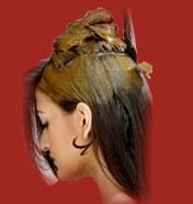 Henna hair paste