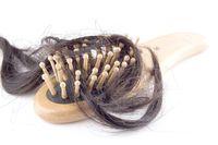 Chemical hair dye damage. Hair loss.