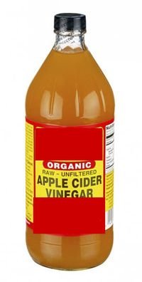 apple cider vinegar jar