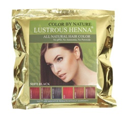 Lustrous Henna is Natural Hair Dye, by Saba Botanical of USA.