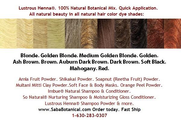 Brown Hair Loves Lustrous Henna Dark Brown Lustrous Henna