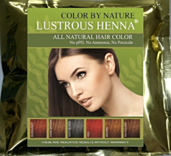 Lustrous Henna® Colors Hair with 100% Natural Ingredients, by L.J. O'Neal, writer.
