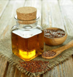 Healthy Hair Benefits from Flaxseed Oil –by L.J. O'Neal, writer.